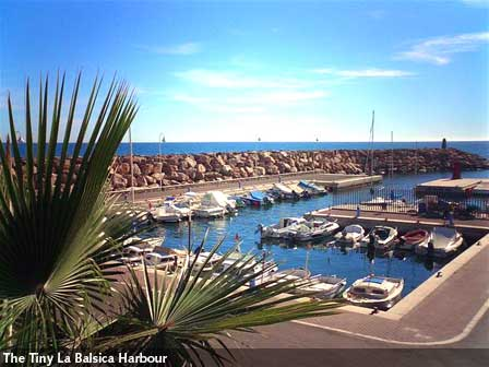The harbour at Villaricos - a five minute drive away